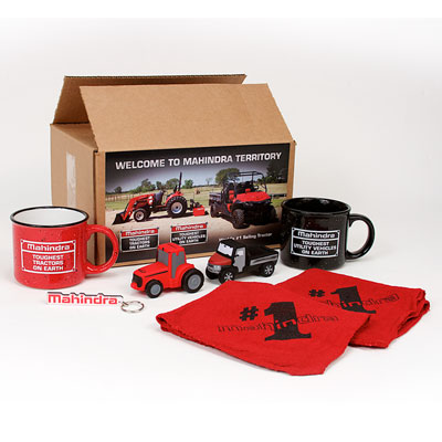 "Mahindra New Owner Welcome Kit - 12"" x 9"" x 6"""