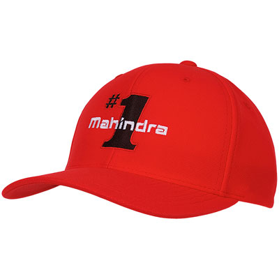 Mahindra #1 Selling Hat - Red (each)
