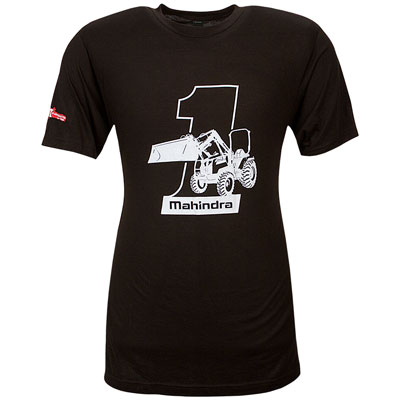 #1 Selling Tractor T-Shirt - Black