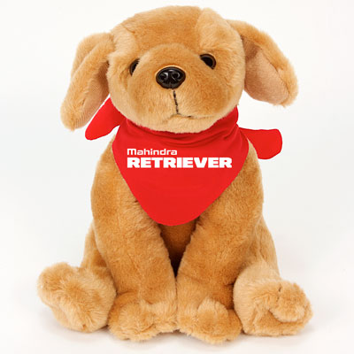 Retriever Plush Toy (each)